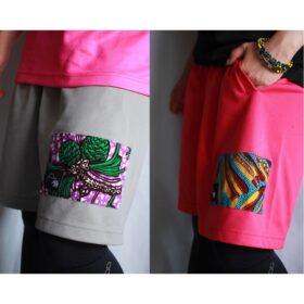 Training pants【Gray/Pink】