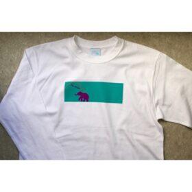 ホワイトアフリカンT-shirt