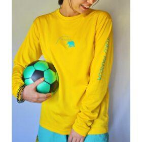 ロングドライシルキー(yellow)