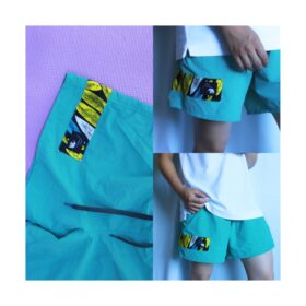 Kitenge short pants (数量限定)
